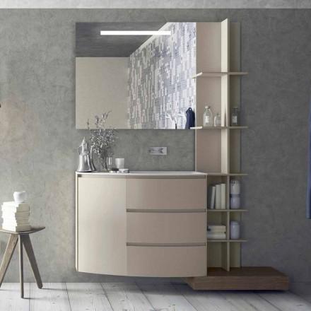 Sammansättning av möbler för badrummet med modern design - Callisi13