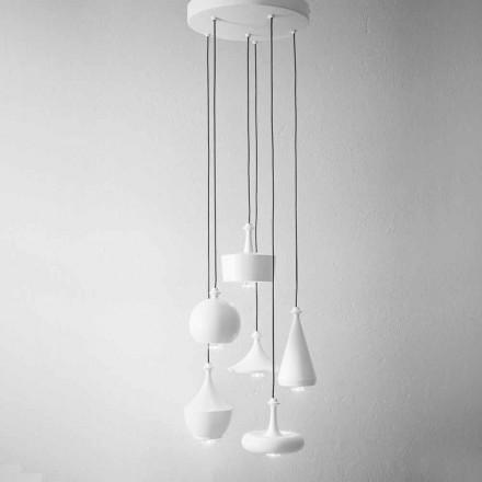 Komposition Suspension Design Lampor - Lustrini Aldo Bernardi