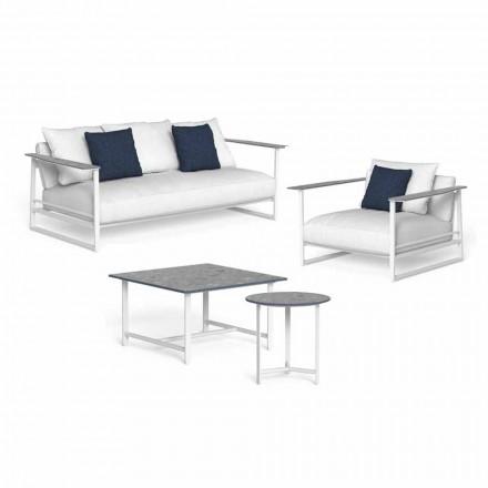 Design Living Room Composition i aluminium och Gres - Riviera av Talenti