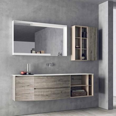 Upphängd designkomposition, badrumsmöbler för modern design - Callisi5