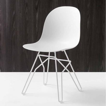 Connubia Academy Calligaris stol modern design som gjorts i Italien, 2 st