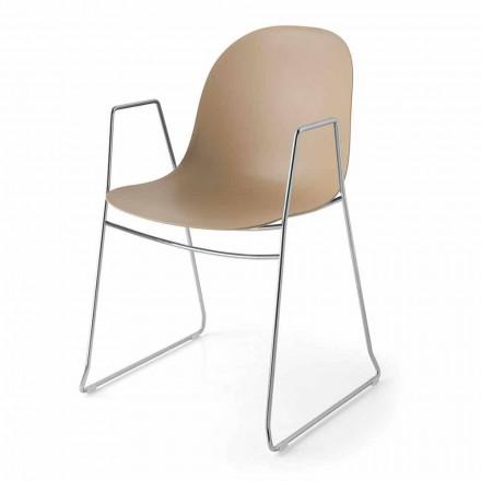 Connubia Academy Calligaris modern stol i polypropylen, 2 st