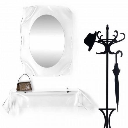 Konsol modern design plexiglas draperad Wish