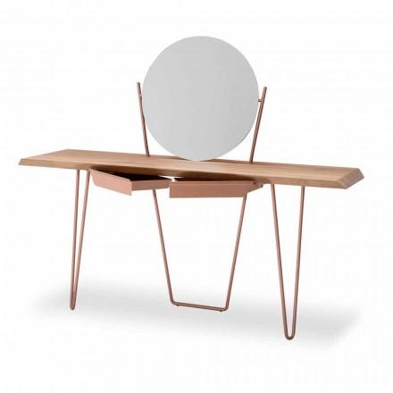 Modern trä- och metallkonsol tillverkad i Italien - Coseno Plus
