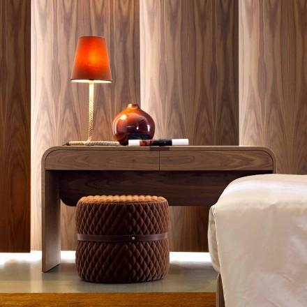 Grilli York design gjord i Italien massivt trä konsol bord