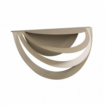 Upphängd konsol i järn för modern design tillverkad i Italien - Olfeo