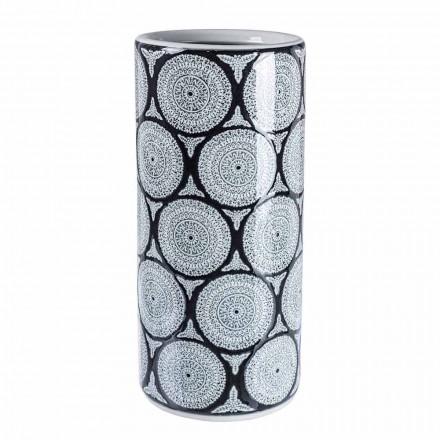 Par modernt porslinparaplyställ med Homemotion-dekorationer - Jimbo