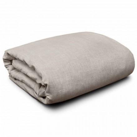 Påslakan i naturligt linne för king size-sängar, enkla och stora sängar. Made in Italy - Blessy