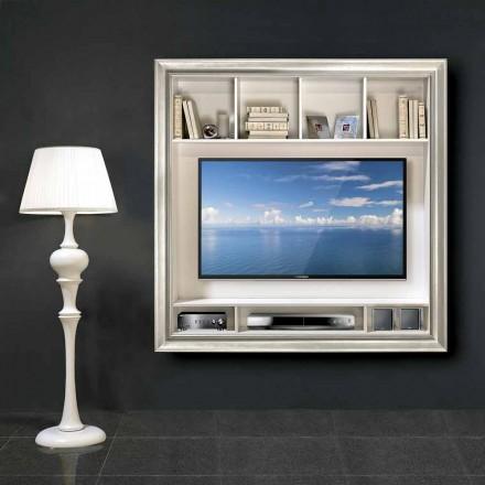 Mirko väggmonterad plasma TV-stativ, i trä