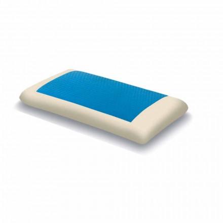 Ergonomiskt minne Hydrogelkudde Tillverkad i Italien, 2 stycken - Vacker