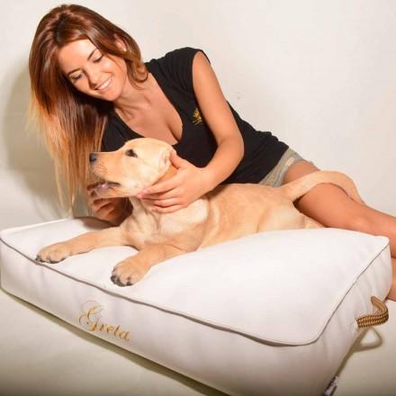 Dog kudde täckt med konstläder interiör Doggy Cloud