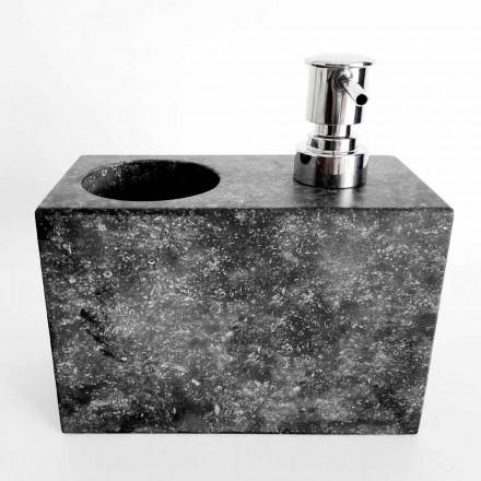 Flytande tvåldispenser med marmorglas tillverkad i Italien - Clik