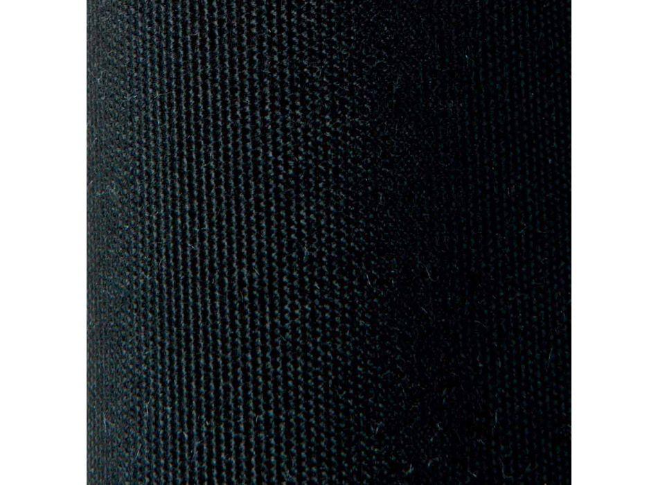 2-sits utesoffa i metall och tyg med kuddar tillverkade i Italien - Olma