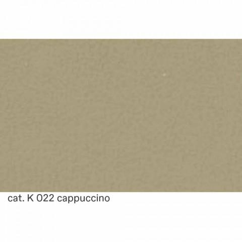 2 -sits skinnsoffa med valnötfötter tillverkade i Italien - Alessandria
