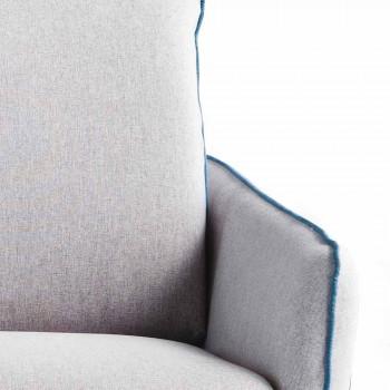 3 sits maxi L205 cm modern design konstläder / tyg Erica
