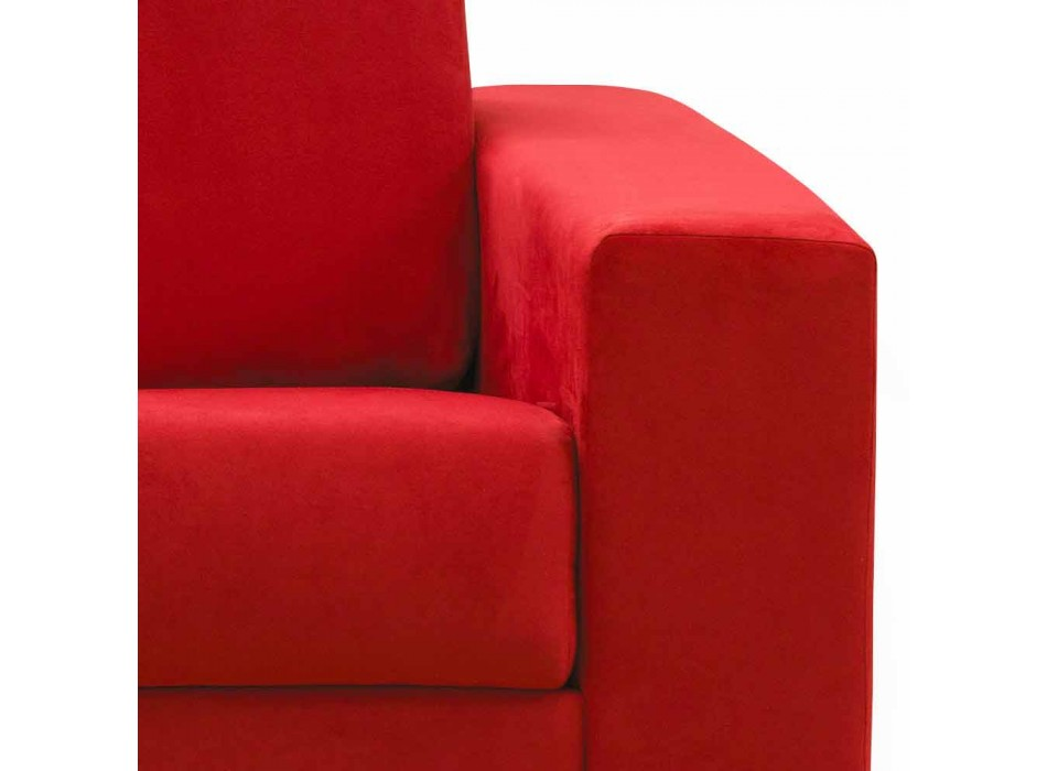 2-sits modern soffa / tyg av imitationsläder tillverkad i Italien Mora