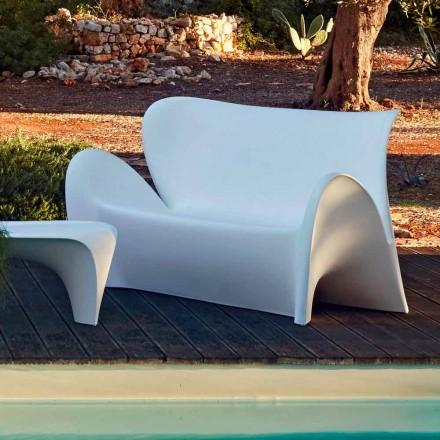 Utomhus eller inomhus vardagsrum Soffa färgad plastdesign - Lily av Myyour