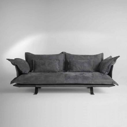 Modern soffa konstruktion Shita hud, 170, 220 eller 250 cm