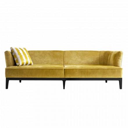 Design soffa stoppad i bökrä Grilli Kipling gjorde Italien