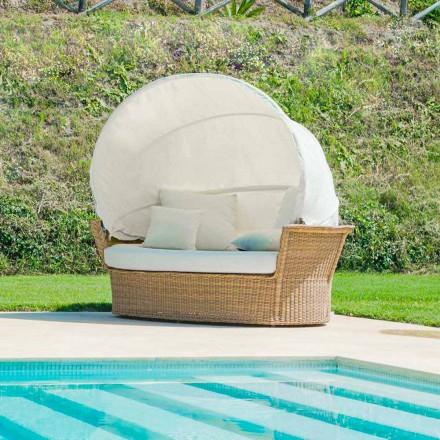 Soffa ö avkopplande trädgård med Hector gjorde vävning hand, modern design