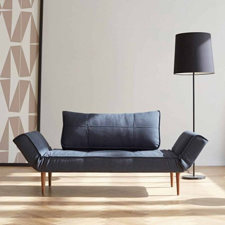 Bäddsoffa i modern design Zeal by Innovation i klädd tyg