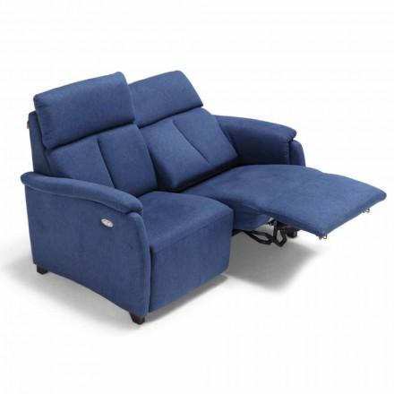 Motoriserade Couch 2 platser med elektrisk sits Gelso 1, modern design