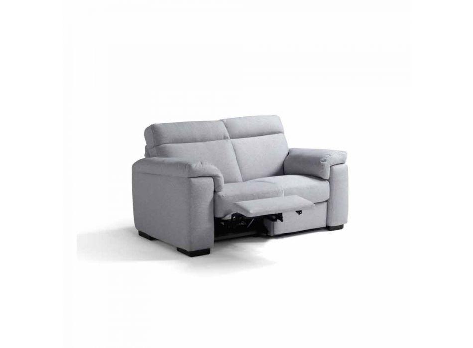 2-sits elektrisk soffa, 2 Lilia elektriska säten, tillverkad i Italien
