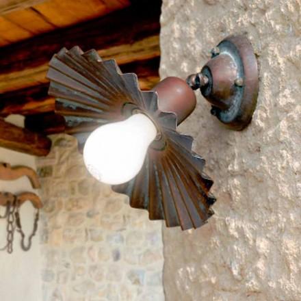 Infälld taklampa i antik mässing Owl