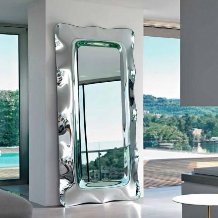 Fiam Italien Dorian spegel golv / vägg 202x105cm Made in Italy