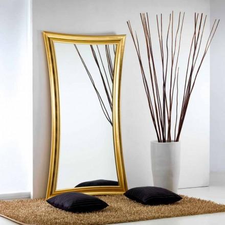 Stor spegel golv / vägg modern design Heart, 110x197 cm