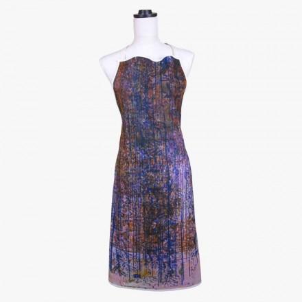 Handgjord förkläde Handgjord tryck unik bit i bomull - Viadurini av Marchi