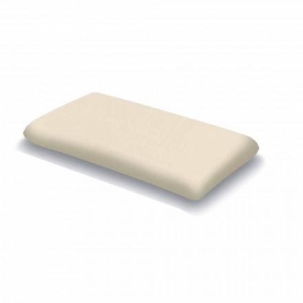 Kudde i ergonomiskt minnesskum 13 cm hög Tillverkad i Italien 2 stycken Magnolia