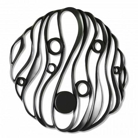 Vägginstallation Modern design i perforerad keramik tillverkad i Italien - Desta