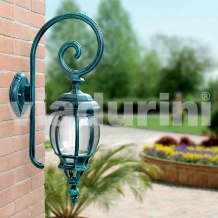 Utvändig vägggjuten lampa tillverkad av gjuten aluminium, Anika