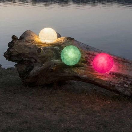 Utomhuslampa In-es.artdesign Knapp Ut i färgad nebulit