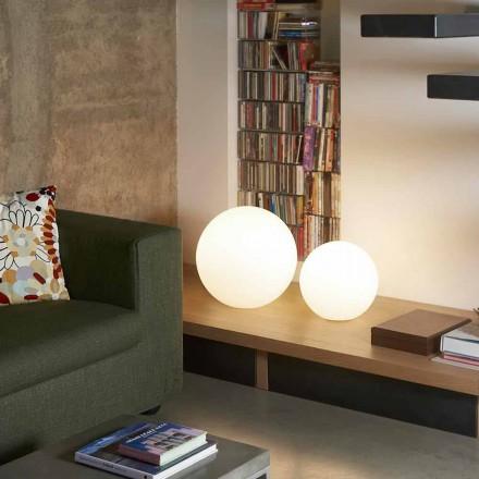 Moderna golvlampa / bord Slide Globo, tillverkad i Italien