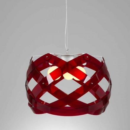 Taklampa tre lampor 67 cm i metakrylat diameter Vanna