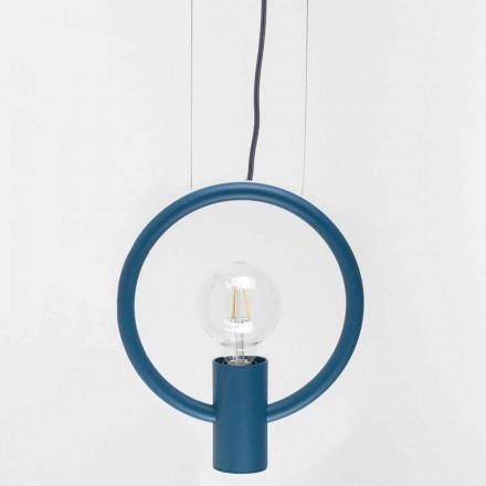 Design upphängningslampa i stål tillverkad i Italien - Delizia