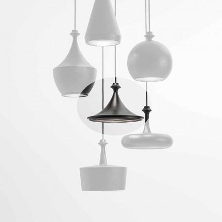 Keramisk Suspension Led-lampa - Lustrini L1 Aldo Bernardi