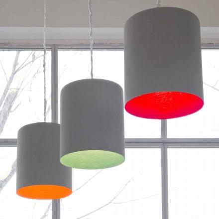Designer hänglampa In-es.artdesign Bin Painted cement