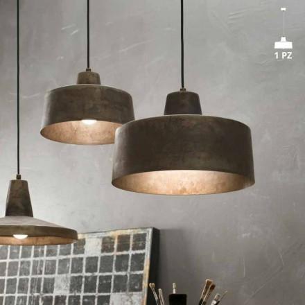 Lampa designen taklampa antik järn Jean Il Fanale