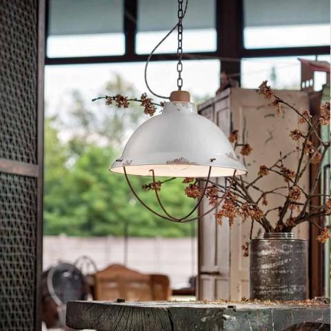 Lampa hantverk industriell design fjädring Clara