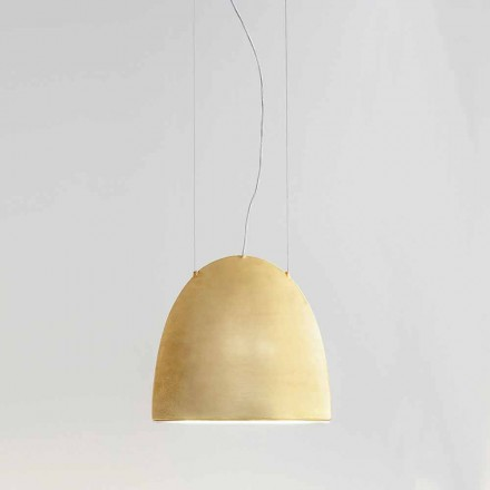 Suspension Lamp of Modern Design in Keramics - Sfogio Aldo Bernardi