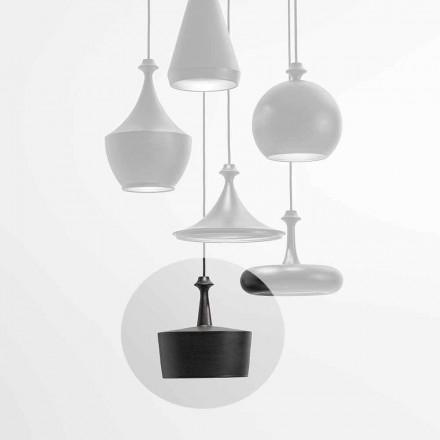 LED-keramisk ljusupphängningslampa - L6 Glitter Aldo Bernardi