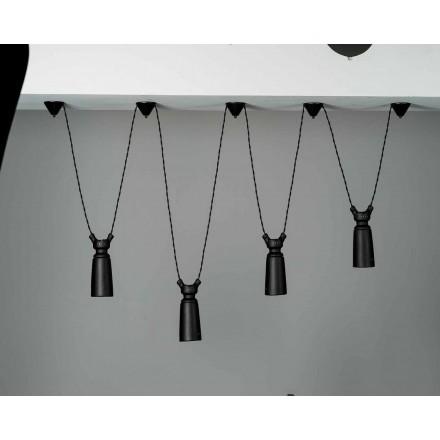 Keramisk hängande lampa för Battersea - Toscot komposition