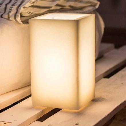 Abat-jour-lampa i doftvax av olika färger tillverkad i Italien - Dalila