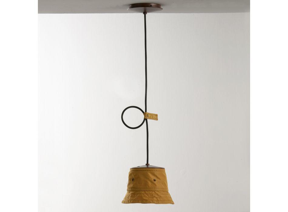 Handgjord lampa i polyester och aluminium tillverkad i Italien - Toscot Junction