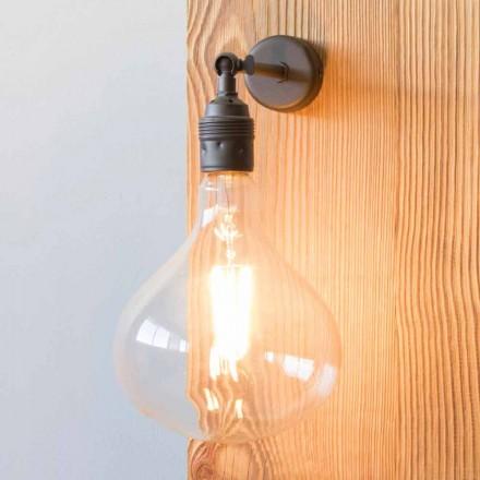 Lampa med handgjord lackerad järnkonstruktion tillverkad i Italien - Alabama