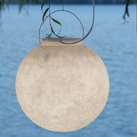 Utomhusfjädringslampa In-es.artdesign Luna Ut i nebulit
