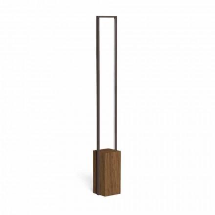 Led utomhuslampa i färgat stål och 3 dimensioner - Casilda av Talenti